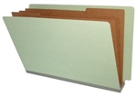 <b>Pressboard Classification/Credentialing Folder, End Tab (Box of 10)</b>