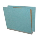 20pt Type I Pressboard Classification Folder, End Tab