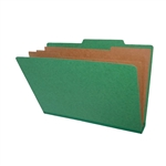 <b>Pressboard Classification/Credentialing Folder, Top Tab (Box of 10)</b>