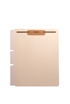 11pt Manila Fileback Tab Divider Sheet, Side Wing