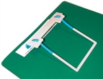 2 Prong Readi-Clip Fastener Sets Teal Tubing, Gray Compressor/Extender