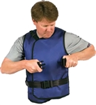 Flex Back Vest Female 0.35mm Front, 0.25mm Back