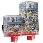 <b>MRI Earplugs and Dispenser - 500 Count, Multi-Colored</b>