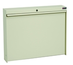 <b>Wall Mounted Fold-Down WorkStation - Locking Model</b>