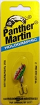 Panther Martin Holographic Regular - Size #2 1/16oz- Inline Spinner- 2-PMH-RTH (Holographic Rainbow/Trout)