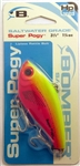 "Bomber Saltwater Grade 3-1/2"" 1-1/4oz High Pitch Super Pogy BSWSPH3330 (Cotton Candy)"
