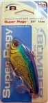 "Bomber Saltwater Grade 3-1/2"" 1-1/4oz High Pitch Super Pogy BSWSPH3339 (Dorado Flash)"