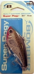 "Bomber Saltwater Grade 3-1/2"" 1-1/4oz High Pitch Super Pogy BSWSPH3342 (Speckled Trout)"