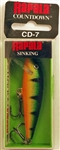 "Rapala CountDown 2-3/4"" 1/4oz CD07-P (Perch)"