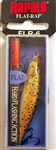 "Rapala Flat Rap 2-1/2"" 1/8oz FLR06-TR (Brown Trout)"
