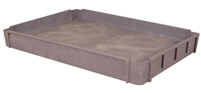Plastic Service Cart 24X36 3rd Tray Option