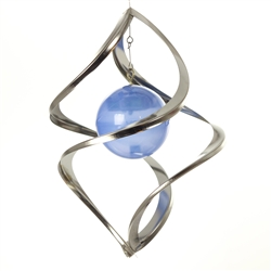 Color-Changing Solar Metal Wind Spinner | Set of 2