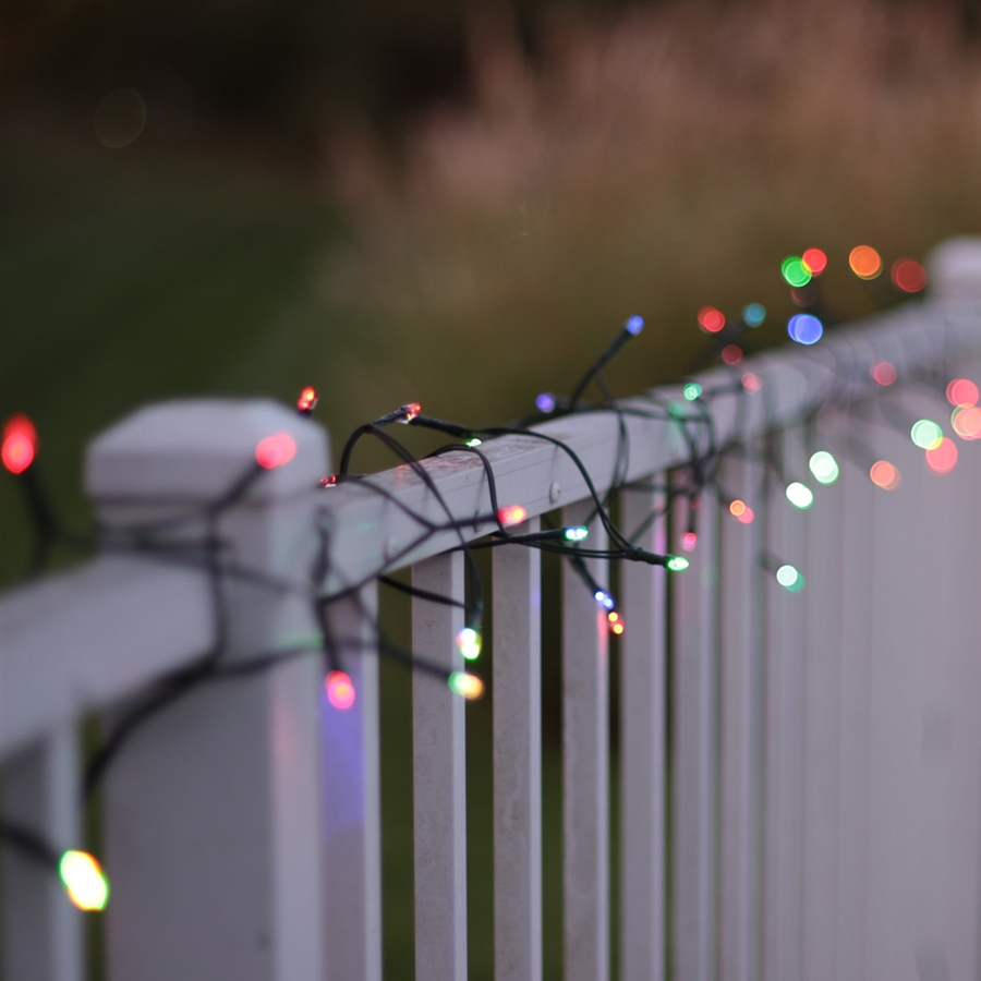 Color Changing String Lights Solar Outdoor Lights Solascape