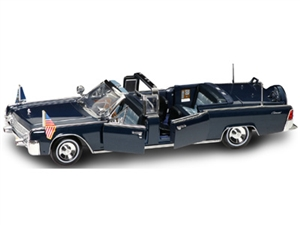 1:24 Lincoln X-100 '61 Kennedy Car