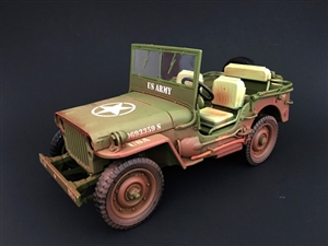1:18 Army Jeep - US Army (Dirty Version)