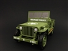 1:18 Army Jeep - Military Police (Green)