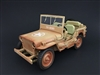 1:18 Army Jeep - US Army (Rusty Desert Version)