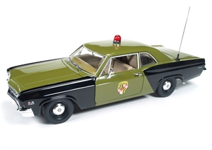 1:18 Chevy Biscayne '66 (Maryland State Police Car)
