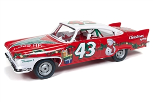 1:24 Plymouth Fury '60 Richard Petty  (Christmas Edition)