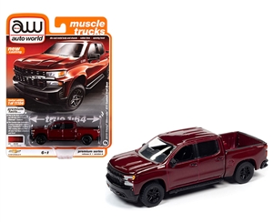 1:64 2019 Chevy Silverado Custom Trailboss - Red