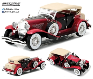 1:18 Duesenberg II SJ - Red and Black