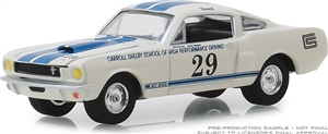 1:64 1965 Shelby GT350 #29 Carroll Shelby School of High Perf