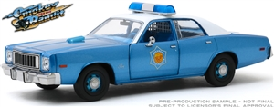 1:24 Smokey and the Bandit (1977) - 1975 Plymouth Fury Arkansas State Police