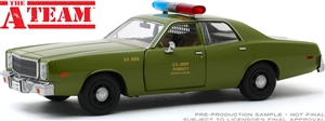 1:24 The A-Team (1983-87 TV Series) - 1977 Plymouth Fury U.S. Army Police