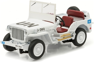 1:43 Jeep Willys (United Nations decoration)