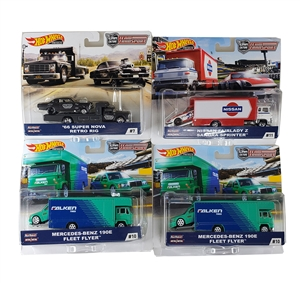 1:64 HW Team Transport Assortment D - 2019