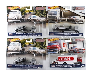 1:64 HW Team Transport Assortment E - 2019