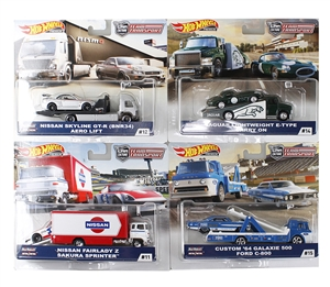 1:64 HW Team Transport Assortment F - 2019
