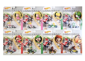 1:64 HW Character Cars - Mario Kart Assortment G