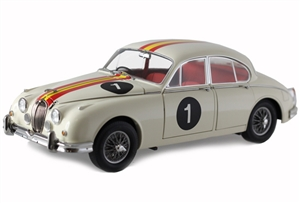 1:18 Jaguar Mark II '62 Racing Bob Jane