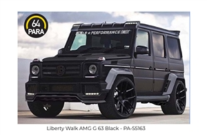 1:64 Liberty Walk AMG G63 - Black