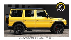 1:64 Liberty Walk AMG G63 - Yellow