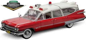 1:18 Cadillac Ambulance '59
