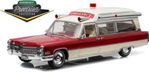 1:18 Cadillac S&S High Top Ambulance '48