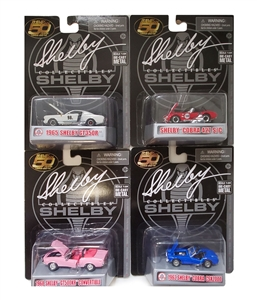 1:64 Shelby 50th Anniversary Assortment N