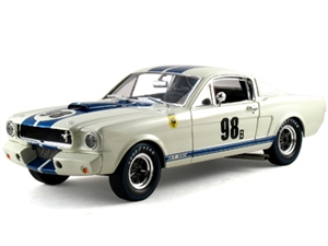 1:18 Shelby Mustang GT350R '66 #98B - Sold $3.85 Million in 2020 Mecum Auctions