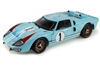 1:18 Ford GT40 '66 #1 Le Mans Miles/Hulme