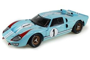 1:18 Ford GT40 '66 #1 Le Mans Miles-Hulme