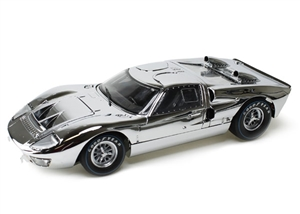 1:18 Ford GT40 '66 Chrome Edition