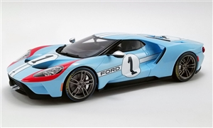 1:18 Ford Gt 2020 - #1 1966 Le Mans - Heritage Edition
