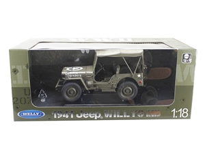 1:18 1-4 Ton US Army Truck '1941