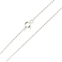 Sterling Silver 150 or 1.5mm Ball Bead Chain