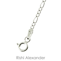 Sterling Silver Figaro chain beautiful anklet for summertime spring time fall at the pool beach or lake