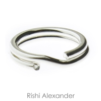 Sterling Silver Split RIngs that are perfect to securely hang your charms to a charm bracelet