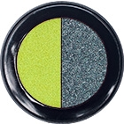 Lime Green & Black  Eye Shadow Duo
