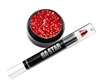 Red Glitter Lips Cheer or Dance Essentials Makeup Kit